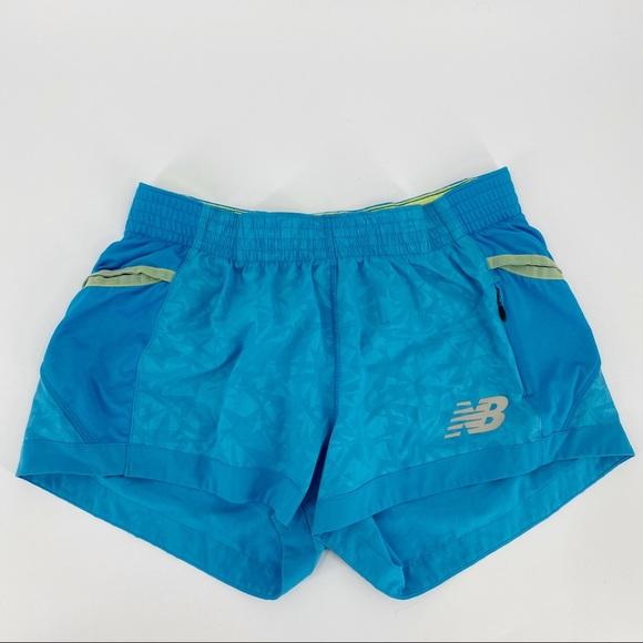New Balance blue athletic shorts